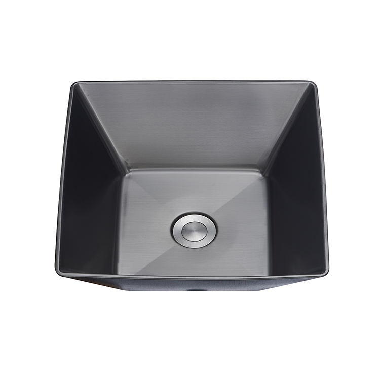 competitive price western single bowl clean wash one modern sink bathroom hand wash basin