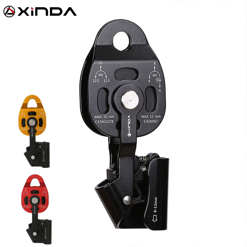 XINDA CE certified heavy transport rescue pulley for weight lifting rescue high altitude