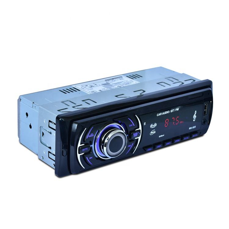 Manufacturers selling wireless connection mp3 player car stereo 1din With SD/MMC card Slot