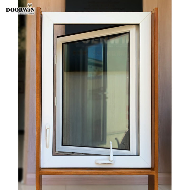 15 days lead time China Manufactures best selling Cheap UPVC Windows and Doors PVC crank handle opening windows and doors