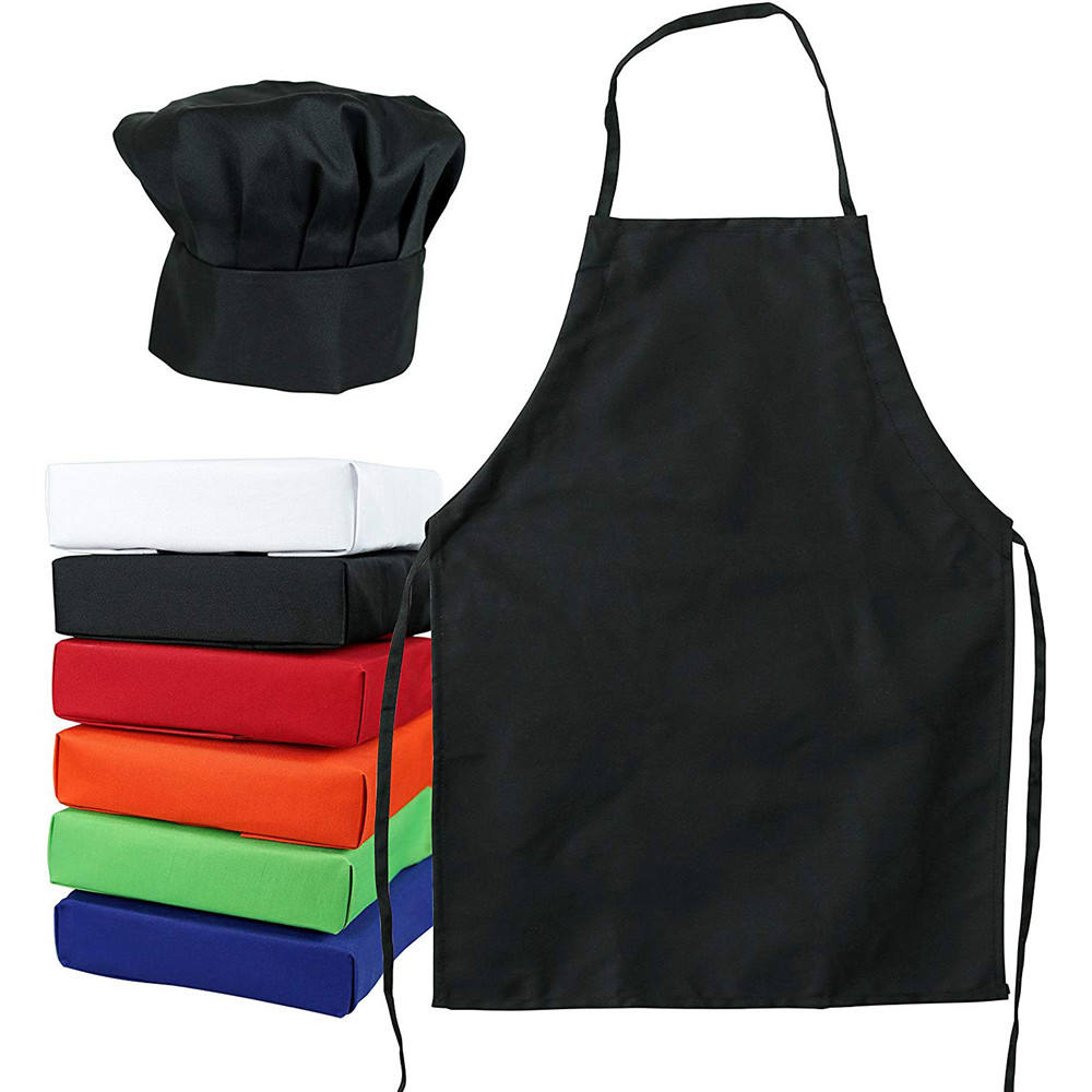 Custom Kids Smock Cook's Apron Kid Apron Cute with Chef Hat