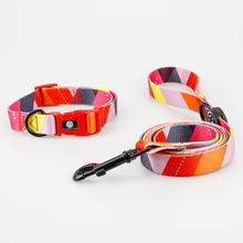 Large stock fast delivery collar leash set dog products accessories custom pet dog