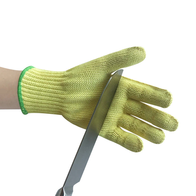 In Stock Aramid Cut & Heat Resistant Gloves Reinforced on Thumb Crotch
