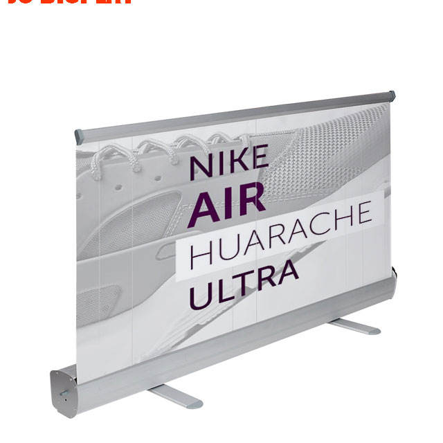 Roller Retractable 80X200 Roll Up Aluminium Banner