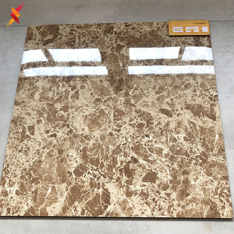 High quality italian polished stone marble look ceramic flooring tiles 600 x 600