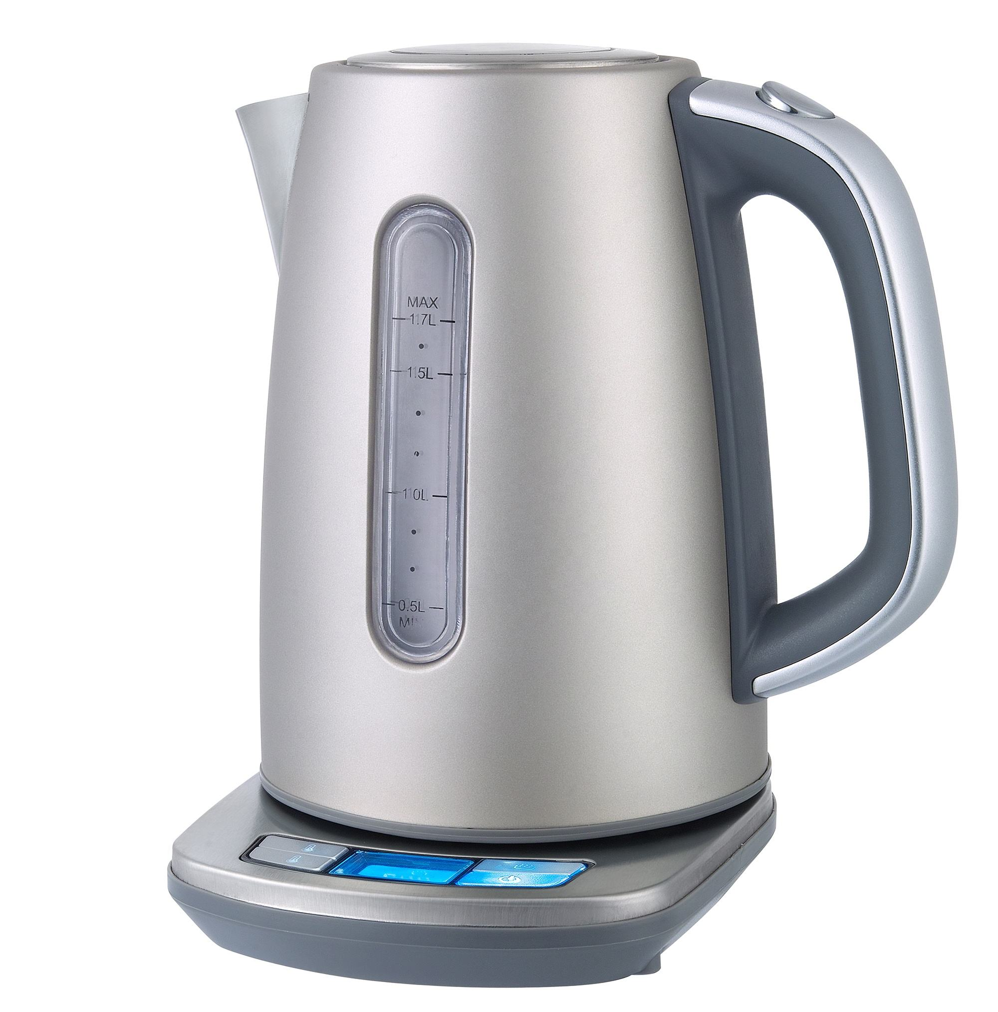 1.7L LED 360 degree rotational electric kettle temperature control keep warm Tea electric kettle