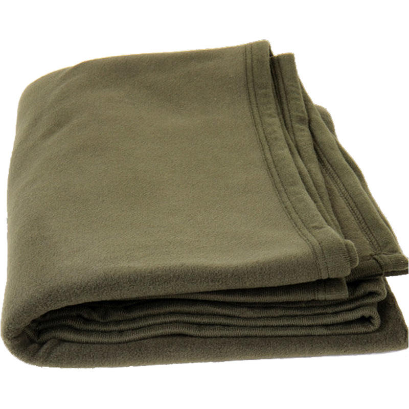 Stamped Olive Green Heavy Weight polyester Military Blanket