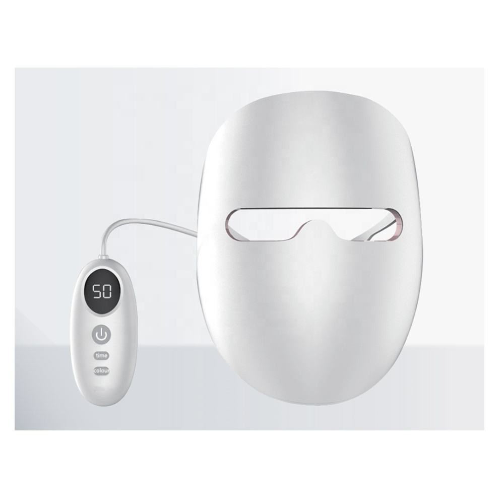 Máscara LED ODM para terapia de luz LED, máscara Facial con IR 850 nm luz roja 660 nm disponible