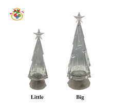 WDL-1855/6  WEIJIULE wholesale RGB colorful lights Christmas holiday decoration LED water lamp acrylic Christmas tree