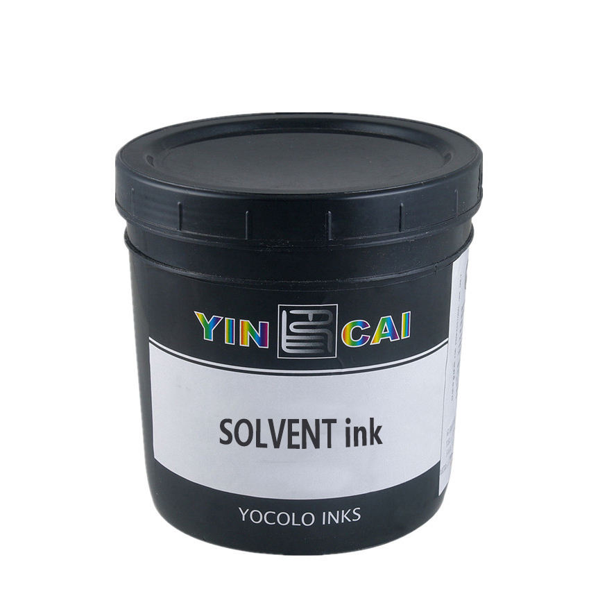 Ceramics decoration screen prints solvent inks