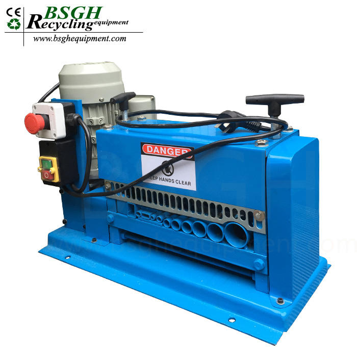 low price home electric scrap wire machine BS-015M wire cutting stripping tinning machine with high quality
