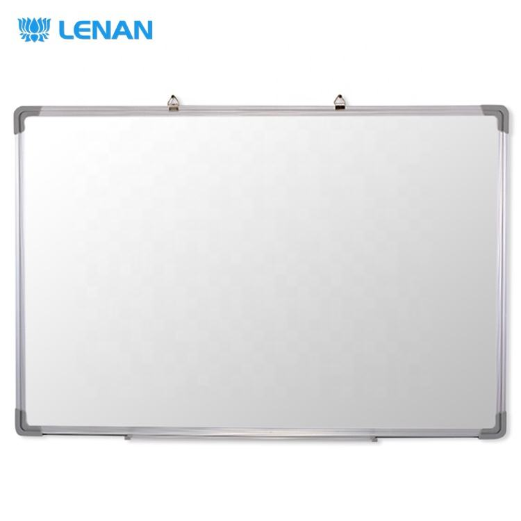 Aluminum frame ABS corners clean room white teaching board for classrooms