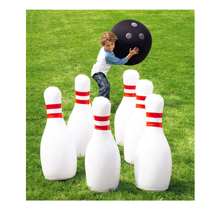 Factory Price Outdoor Inflatable Human Size Bowling Pin for Bowling Ball Game Equipment