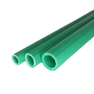 Green white blue color pipe ppr high class quality PN 25 length 4m ppr pipe with standard length