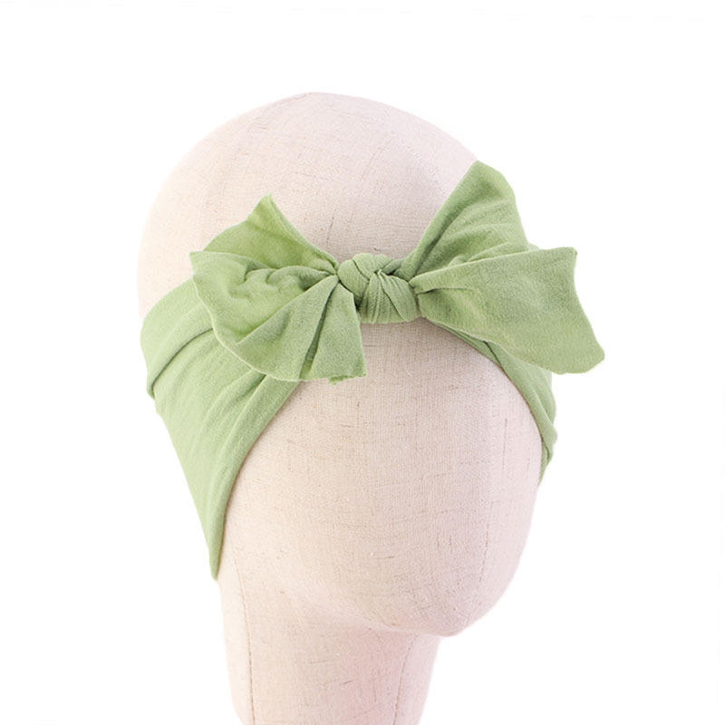 Cute Baby Hair Bands Baby Headbands Kids Turban With Bow Knotted Girl's Hair Bands For Newborn Toddler And Children's