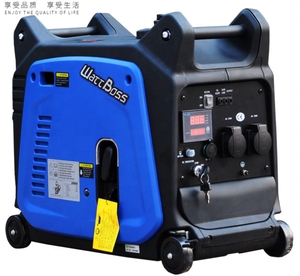 Sample support!! fast delivery max power 3500W electric start Portable Inverter generator Gasoline Generators set for sale