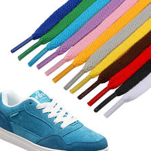 Youki custom fashion good quality flat shoe lace 8 mm wide 0.5-2.2m length , wholesale 57 colors custom flat shoelaces