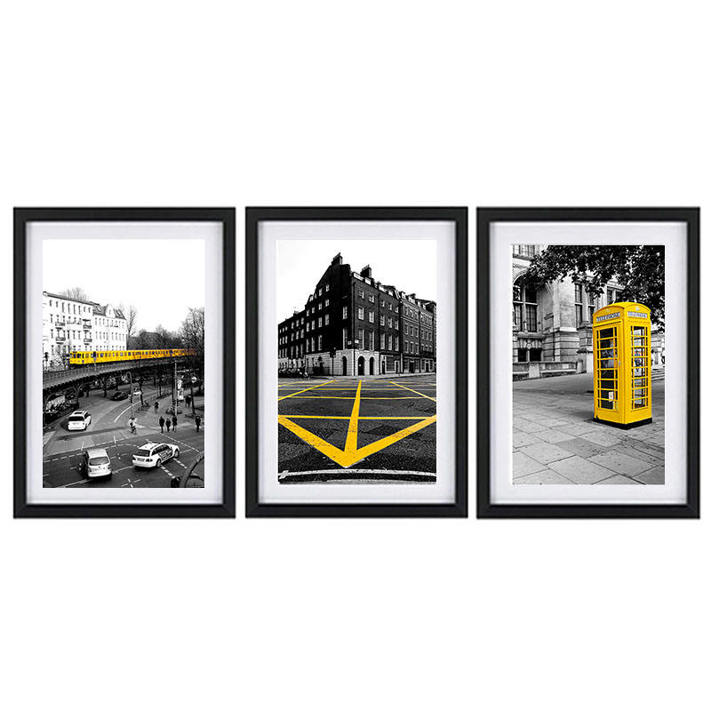 4x6 A1 A4 Picture Wood Black 24x36 20x24 24x30 16x24 Custom Photo Picture Frames For Home decor