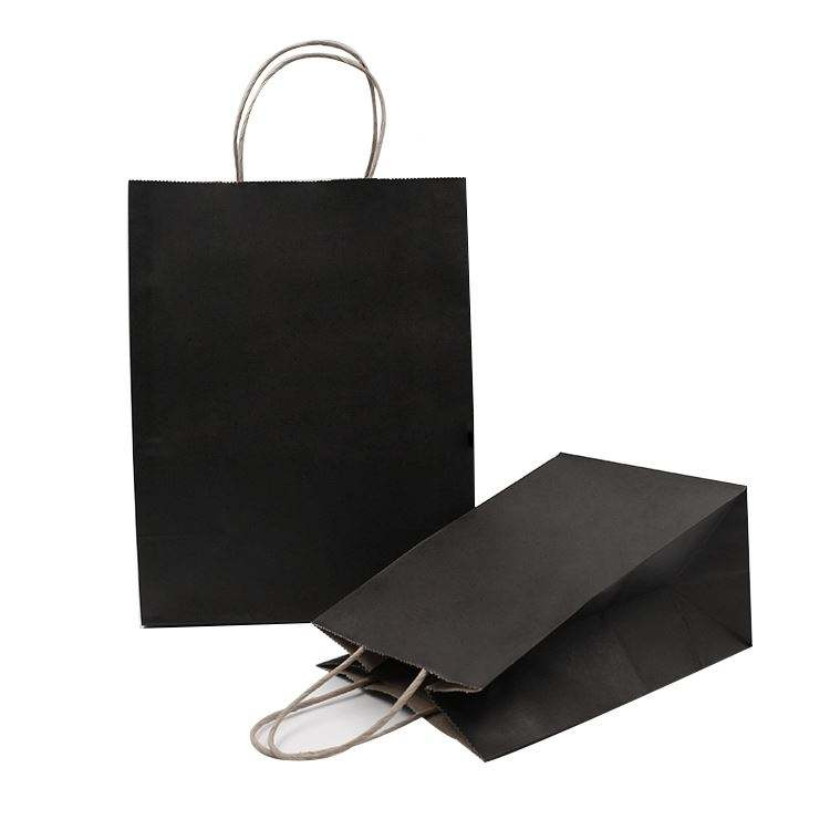Best Service Paper Bag Handle Paper Bag Quality Shopping Bags Wholesale India Kraft Paper Gift Packaging Flexo Printing Accept