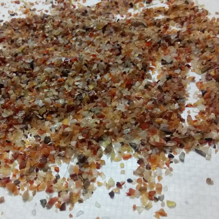 direct factory supply Red Carnelian polished sand and gravel