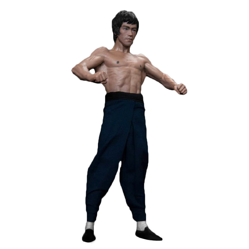 Chinese Kung Fu Movie Star OEM Custom High Quality Eco-friendly Pvc Plastic Bruce Lee Action Figure Toy