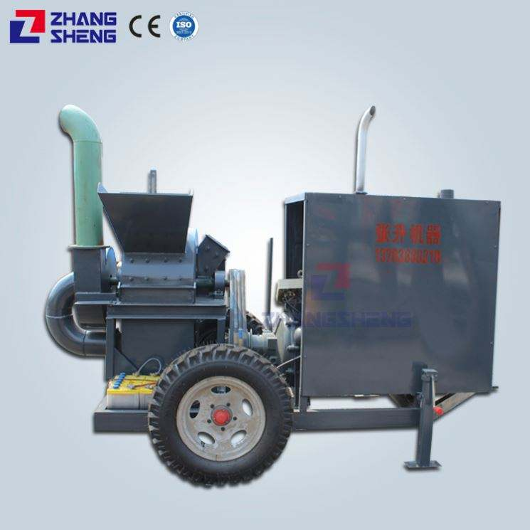 High-speed rotor The Hammer and Screen Mill wood crusher with 600mm 800mm 1m grinding chamber