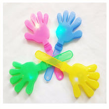 GBJY-473 2019 Hot Sales World Cup Football Fan Items Noise Maker Fan Clapper Led Flashing Hand Clappers For Cheering
