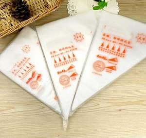 100pcs/bag S M L Size Disposable Piping Bag Icing Fondant Cake Cream Decorating Pastry Tip Tool