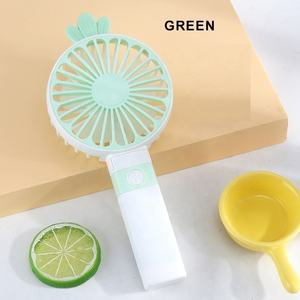 lovely funny convenient usb mini fold portable electric fans