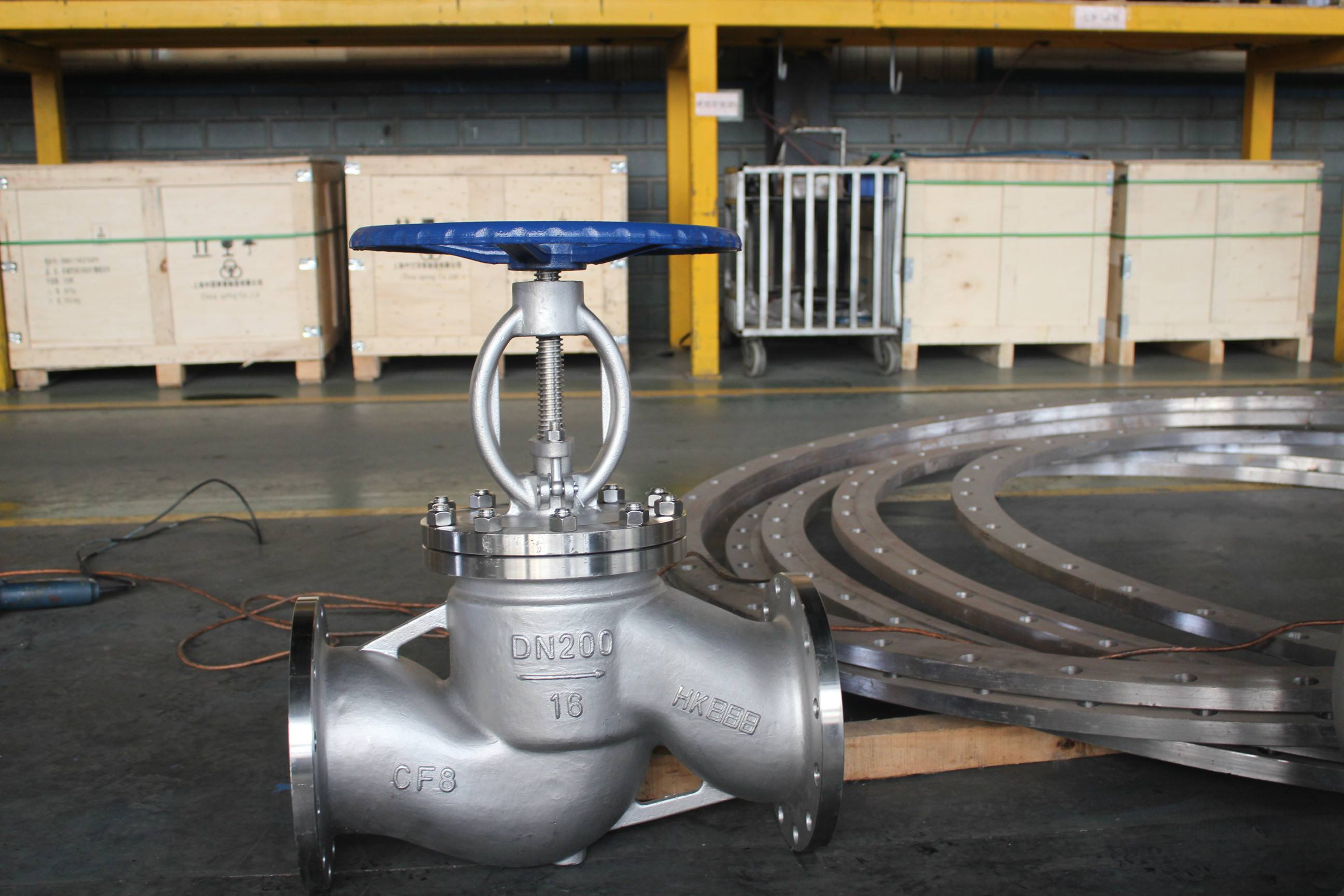 PN16 Stainless Steel Reglating Globe Valve