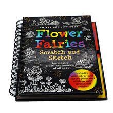 High quality services softcover coloring writing book printing
