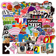 2020 Best Seller Amazon Popular LOGO Stickers for Luggage Laptop Skateboard