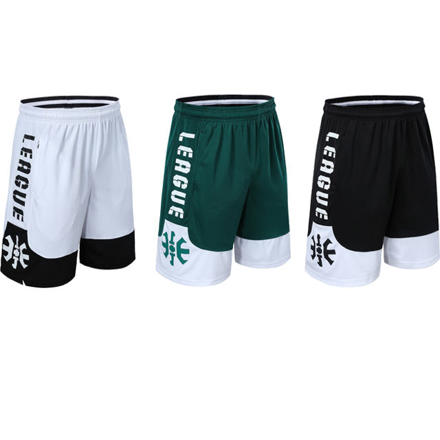High Quality Quick Dry Men Blank Sports Shorts Custom Sublimation Basketball Shorts With Team Logo