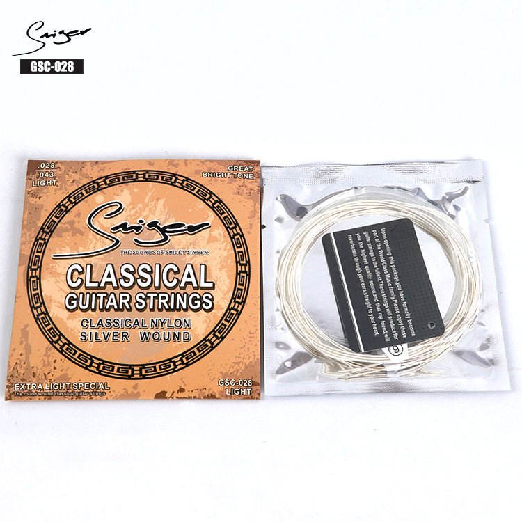 Instrumenten Musicale Klassieke Gitaar Nylon Gitaar String 028 Made In China