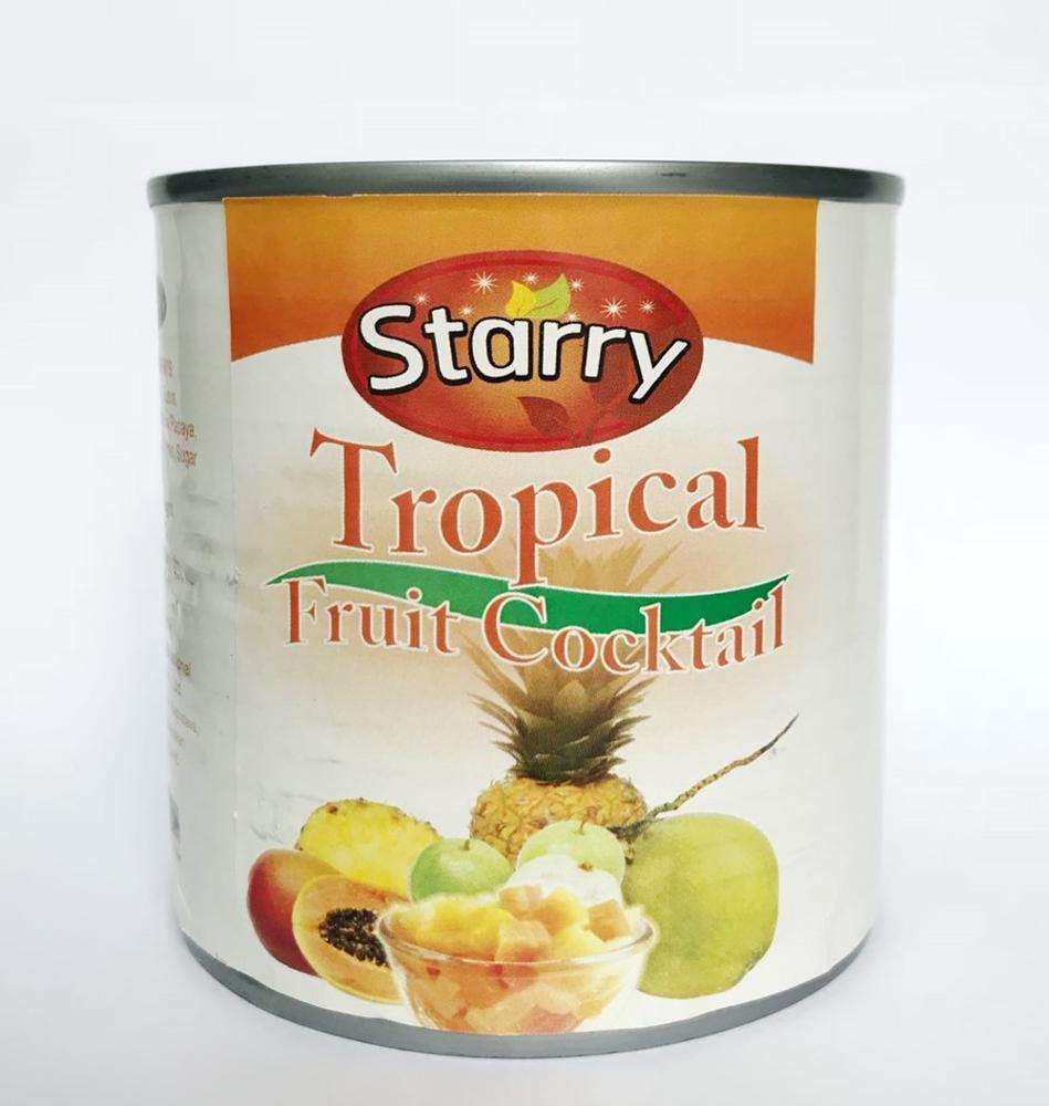 20 oz. Canned Tropical Fruit Cocktail
