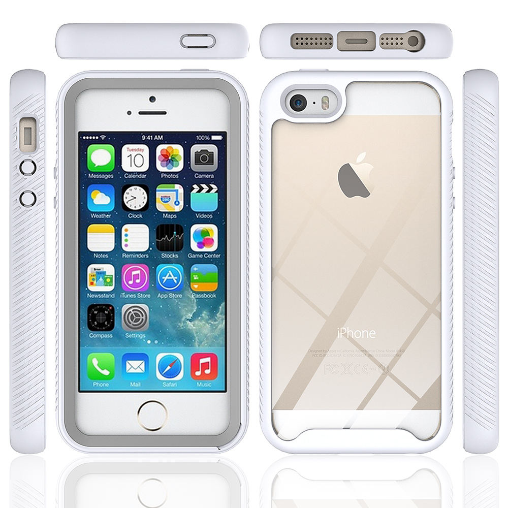 Voor Iphone Shockproof Back Cover Antidrop Robuuste Armor Bumper Pc + Tpu Case Voor Iphone 5 5s 5G