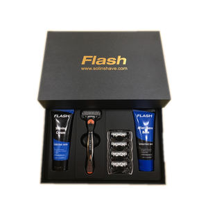 Personal Care Product Custom Logo Five Blade Shaving Razor Gift Set