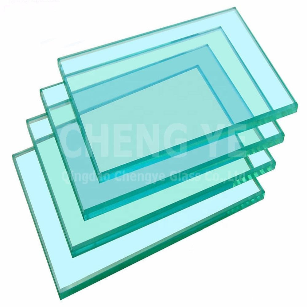 Tempered Standard Size 10mm 5.5mm Clear Float Building Glass In China