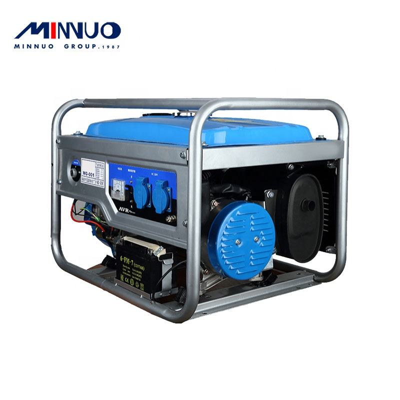 2020 International standard strictly demanding manufacturing portable gasoline generator with compact structure