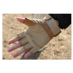Hot Selling Leather Cycling Sports Army Military Tactical Gloves