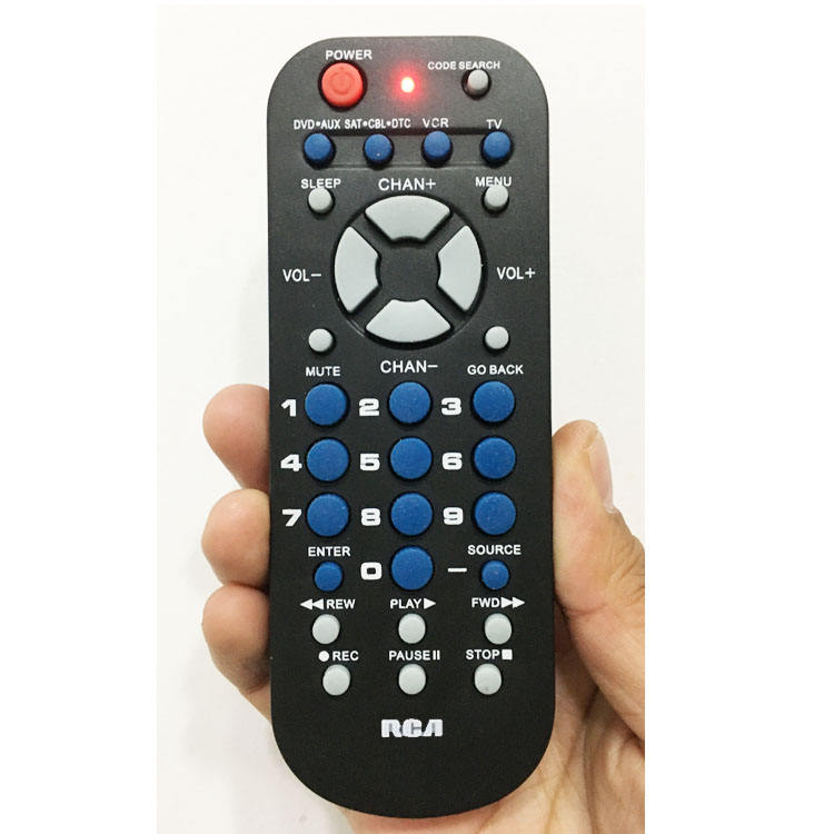 Universal Remote Control RCR503BE/RCR504BZ for RCA 3 DEVICE TV DVD VCR Satellite Receiver Cable Box Digital All in One Remote