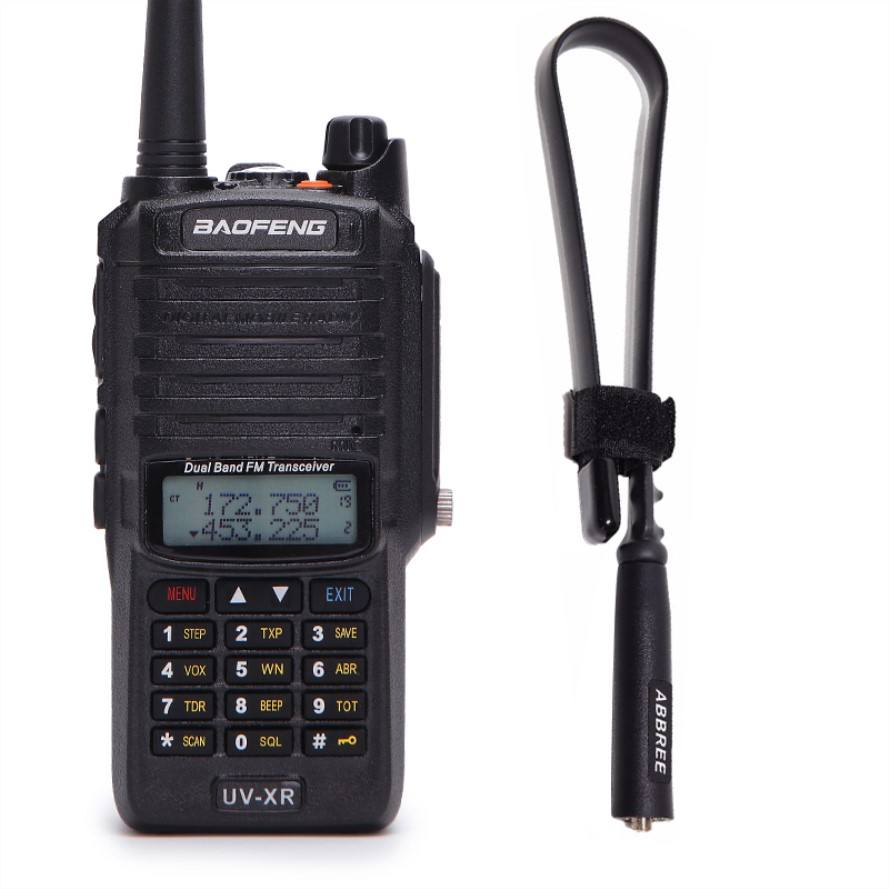 Baofeng UV XR 10W 4800Mah Battery IP67 Waterproof Radio&Tactical Antenna Handheld 10KM Long Range Powerful Walkie Talkie