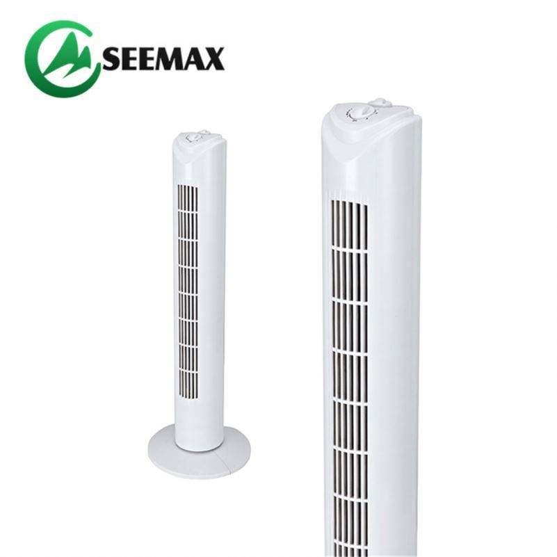 Electrodomésticos de enfriamiento de aire 80Cm 45W 30 pulgadas ventilador de torre con Control remoto
