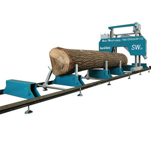 Sawmill-World diesel/gasoline/petrol/electric operated timber cutting machine portable sawmill