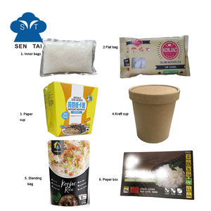 Wholesale asian foods halal box noodles slim pasta low carb