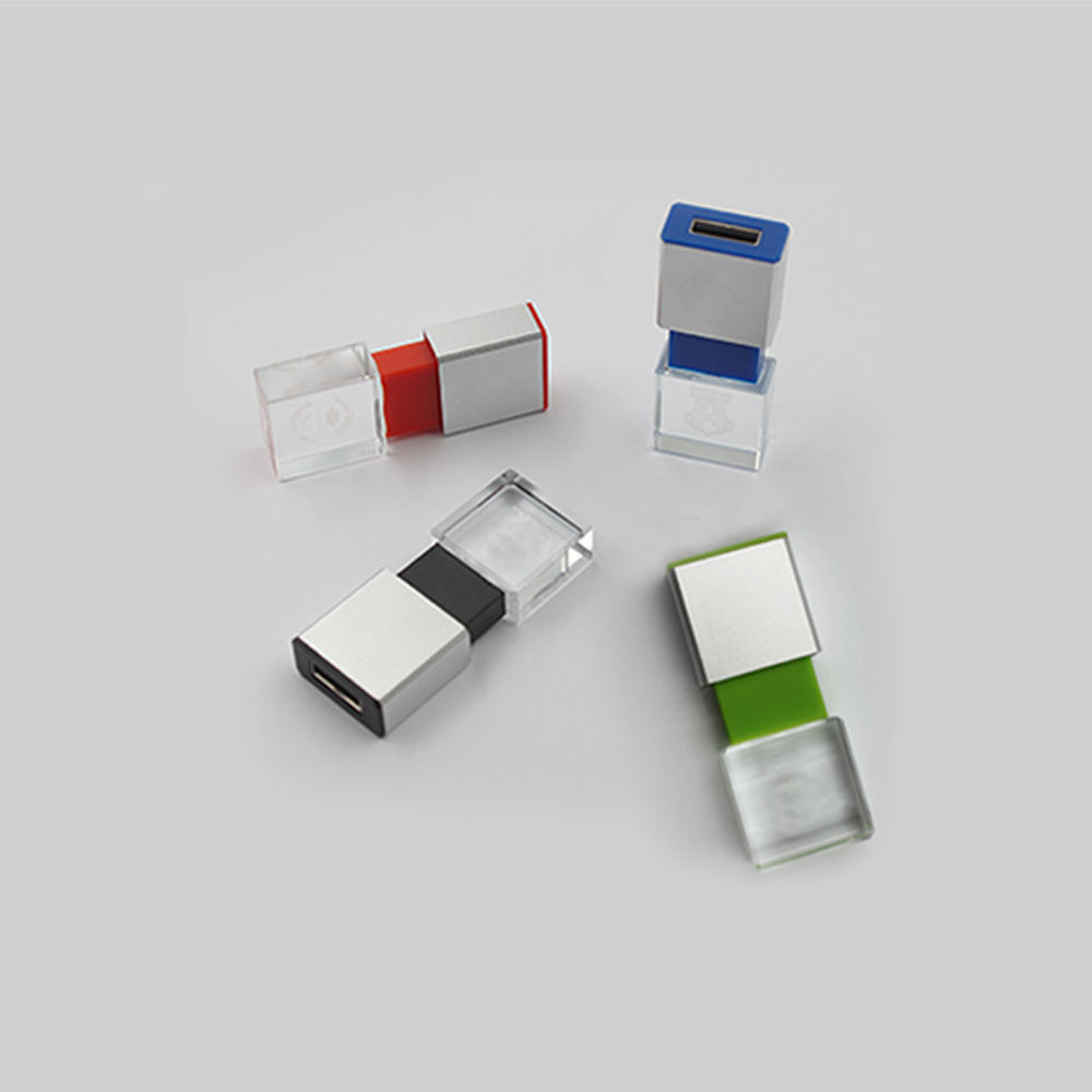 Free Samples Usb Flash 512Mb 1Gb 2Gb 4Gb 8Gb 16Gb 32Gb 64Gb Crystal Usb 2.0 Flash Drive Usb
