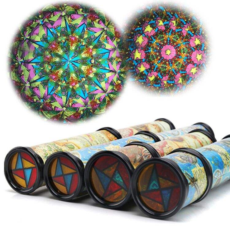 1-4New Brand Kaleidoscope Colorful Toy Kids Children Birthday Educational For Children Gifts 30CM artascope Hot Sale phantoscope