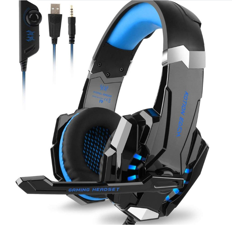 Hohe <span class=keywords><strong>qualität</strong></span> G9000 stereo gaming headset mit kühlen LED-licht