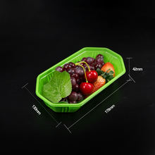 Wholesale custom plastic fast food fruit tray food serving tray disposable plastic trays