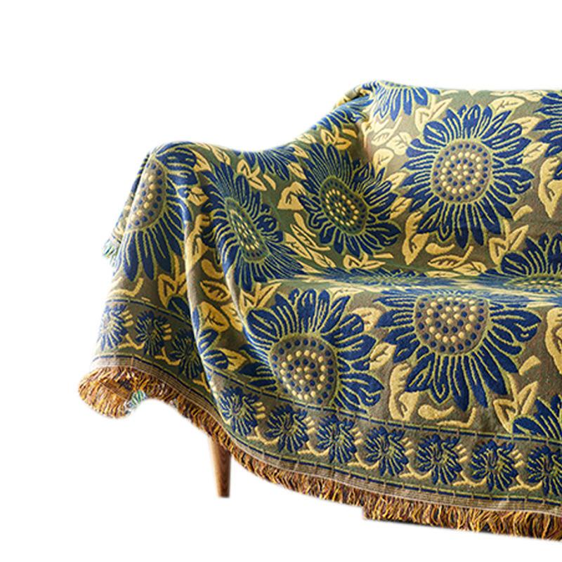 Sofá decorativo funda Cobertor en el sofá/camas/viaje de avión cuadros antideslizante costura <span class=keywords><strong>mantas</strong></span>